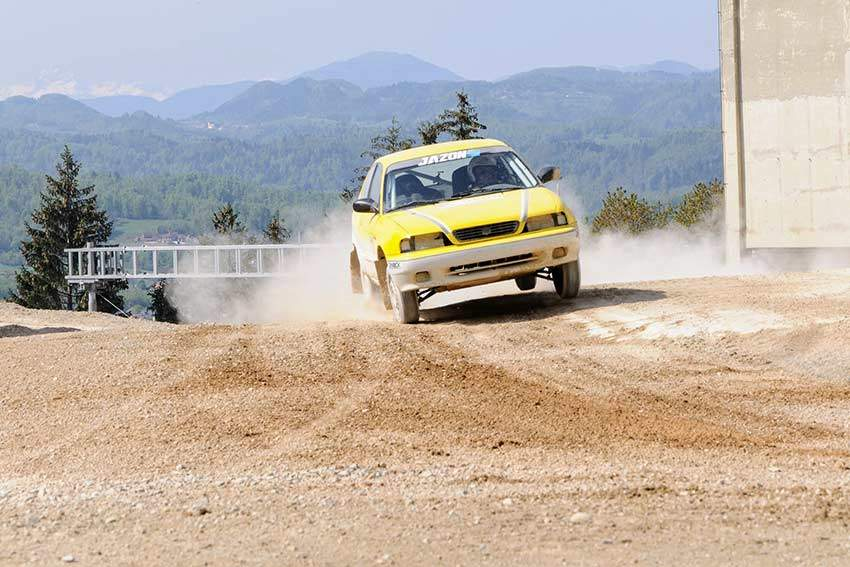 Rally Slovenia Driving